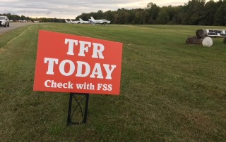 TFR Today Sign
