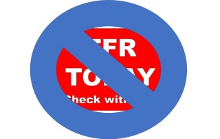 No TFR Sign